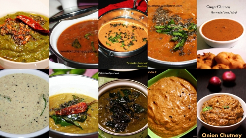 10 south indian chutney recipes