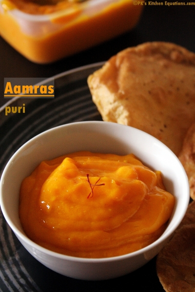 aamras or mango pulp
