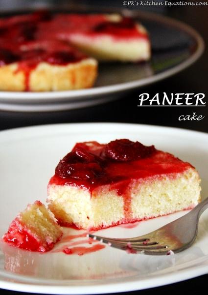 paneer cake