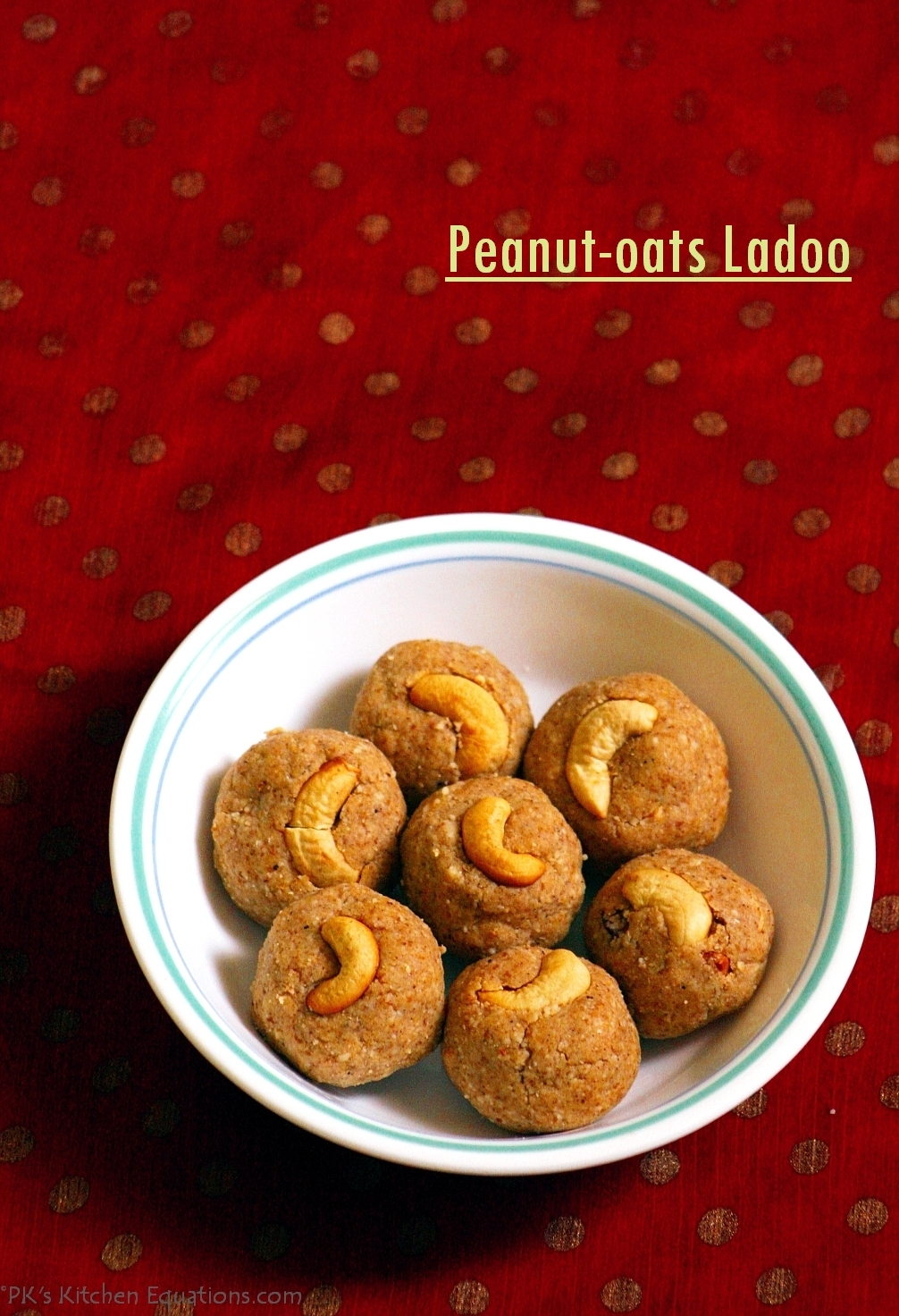 peanut and oats ladoo