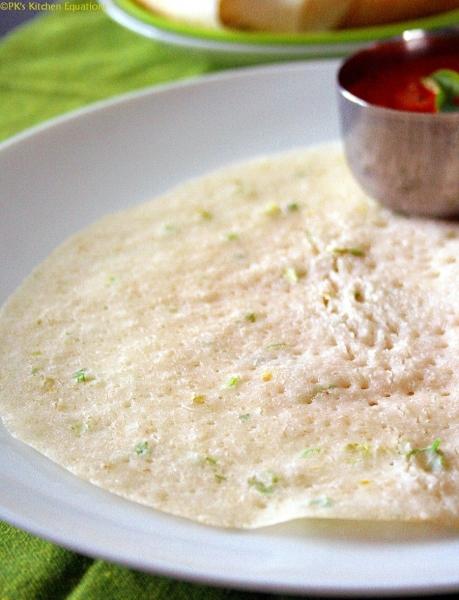 poha-oats dosa