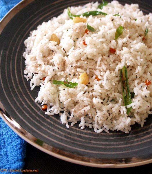 Coconut rice - thengai sadam