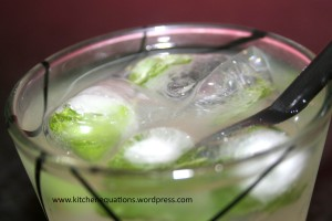 Mint-Ginger Lemonade