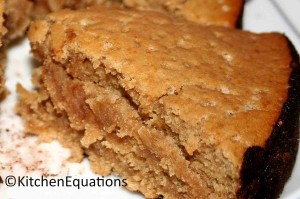 Butter-free, Egg-free, Whole wheat Cake