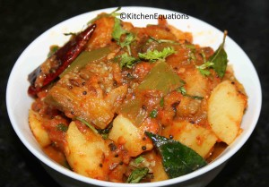 Aloo Baingan (Potato and Eggplant) Curry