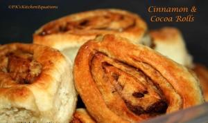 Cinnamon and Cocoa Rolls