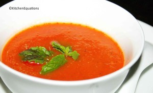 Tomato and Mint Soup