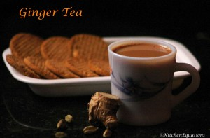 Ginger Tea (Allam Tea or Chai)