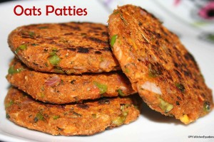 Healthy Oats Patties (For Burgers/Sandwiches)