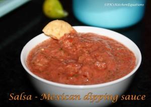 Salsa - Mexican dip