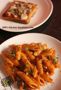 Italian meal combo using Chef's Basket recipe kit - product review