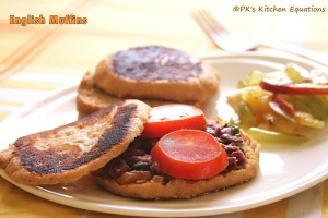 English Muffins - for a healthy breakfast