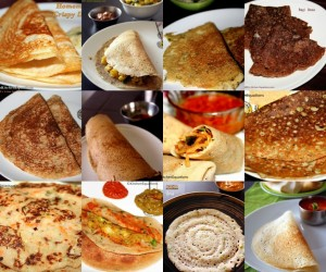 12 south Indian Dosa recipes