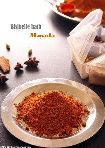 Homemade Bisi bele bath masala powder recipe