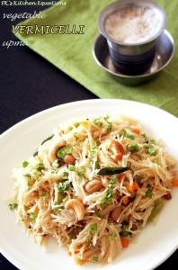 Vegetable vermicelli upma - semiya upma