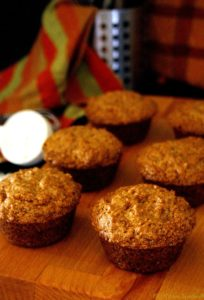 Eggless Banana muffins - super fluffy and light