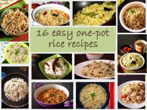 Rice recipes - 16 easy one pot meals for lunch box