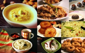 Festival recipes - naivedyam recipes